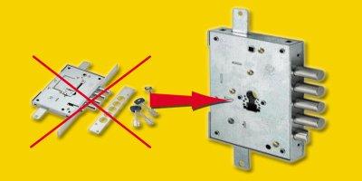 Подмяна на касова брава