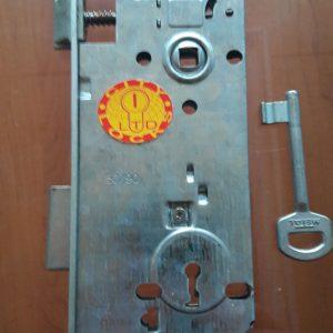 Брава с обикновен ключ Метал не изискваща сигурност
