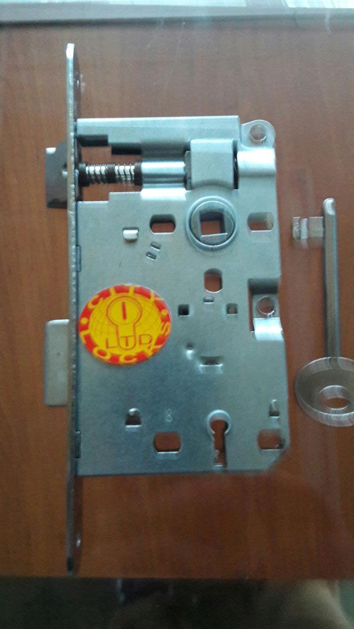 Обикновена брава не изискваща висока степен насигурност